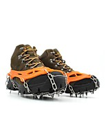 cheap -Traction Cleats Crampons Outdoor Non-Slip Climbing Outdoor Exercise Metal Alloy Rubber metal cm pcs