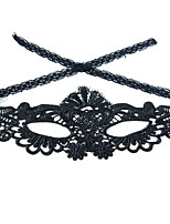 cheap -Halloween Masks Holiday Props Holiday Supplies Holiday Decorations Halloween Props Halloween Accessories Masquerade Masks Sexy Lace Mask