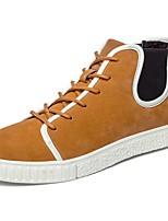 economico -Da uomo Scarpe Pelle di maiale PU (Poliuretano) Inverno Comoda Sneakers Per Casual Grigio Marrone