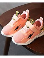 billige -Pige Sko Tyl Forår Efterår Komfort Sneakers Til Afslappet Sort Grå Lys pink