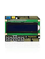 economico -keyestudio 1602lcd tastiera shield per display lcd arduino atmega2560 per raspberry pi uno blue screen modulo blacklight
