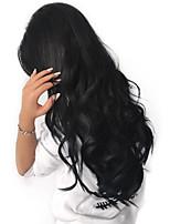 Human Hair Brazilian Natural Color Hair Weaves Hair Extensions 1pc Black