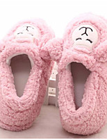 Women's Shoes Nubuck leather Fleece Fall Winter Comfort Slippers & Flip-Flops For Casual Blushing Pink