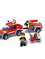 Building Blocks Fire Engine Vehicle Toys Vehicles Boys Boys' 143 Pieces