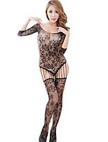 Costumes Vêtement de nuit Femme,Sexy Dentelle Jacquard