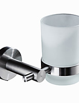 Modern Toothbrush Holders Stainless steel Solid Assorted Shapes