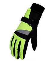 cheap -Winter Gloves Ski Gloves Kid's Full-finger Gloves Windproof Wearable Skiing Durable Printable Polyester Snow Walking Ski / Snowboard