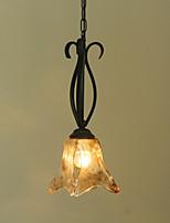 Деревенский стиль Подвесные лампы Назначение Столовая Коридор кафе AC 220-240 AC 110-120V Лампы не включены