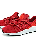 cheap -Men's Shoes Breathable Mesh All Season Comfort Sneakers For Casual Black Red Black/Yellow