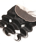 cheap -Remy Brazilian Natural Color Hair Weaves Body Wave Hair Extensions 1pc Black