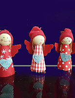 3pcs Christmas Decorations Christmas OrnamentsForHoliday Decorations 6*11