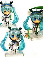 preiswerte -Anime Action-Figuren Inspiriert von Vocaloid Snow Miku CM Modell Spielzeug Puppe Spielzeug