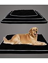 Dog Bed Pet Mats & Pads Solid Black For Pets