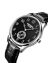cheap -MEGIR Men's Casual Watch Fashion Watch Dress Watch Wrist watch Quartz Genuine Leather Band Casual Cool