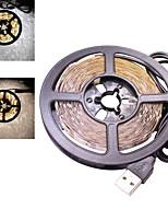 30 watt 5 meter usb led flexible streifen licht dc 5 v 2835 smd 60 leds / meter tv hintergrundbeleuchtung warm / kalt weiß (1 stück)