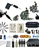 Basekey Professional Tattoo Kit Supreme 4   Machines  Liner & Shader With Power Supply Grips Cleaning Brush  Needles