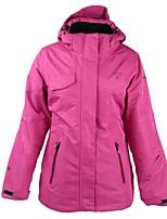 Skijacke Damen Skifahren Ski Warm Wasserdicht Windundurchlässig tragbar Atmungsaktivität Leicht Baumwolle Daunenjacken