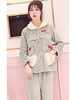 Ultra Sexy Pyjamas Femme,Sexy Motif Animal Polyester Vert Rose Claire