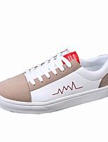 economico -Da uomo Scarpe PU (Poliuretano) Primavera Autunno Comoda Sneakers Per Casual Bianco Nero Bianco/nero Bianco e verde