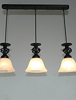 Traditional/Classic Pendant Light For Dining Room Hallway Shops/Cafes AC 110-120 AC 220-240V Bulb not included