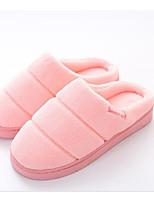 Women's Shoes Fleece Fall Winter Comfort Slippers & Flip-Flops For Casual Burgundy Pink Coffee Black
