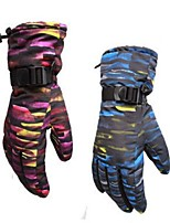 cheap -Winter Gloves Ski Gloves Men's Women's Full-finger Gloves Skin Keep Warm Windproof Wearable Breathable Skiing Water proof material