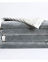cheap -Other Accessories Solid Polyester Blankets