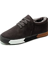 cheap -Men's Shoes Flocking Winter Fluff Lining Light Soles Sneakers For Casual