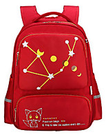 Kids Bags All Season Nylon Backpack Zipper for Casual Red Royal Blue