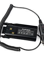 baofeng uv-82 walkie talkie carregador de carro adaptador de eliminador de bateria para baofeng pofung uv-82 uv82 uv-82l uv82l radioamador