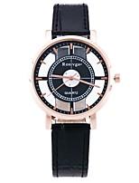 Жен. Модные часы Нарядные часы Наручные часы Китайский Кварцевый С гравировкой PU Группа Роскошь На каждый день Черный Белый Коричневый