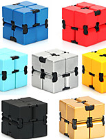 cheap -Infinity Cubes Toys Toys Office Desk Toys Stress and Anxiety Relief Square Shape Plastic Places Classic Style Pieces Adults' Gift