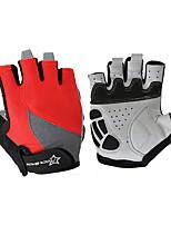 Спортивные перчатки Перчатки для велосипедистов Дышащий Без пальцев Сетка Велосипедный спорт / Велоспорт Универсальные
