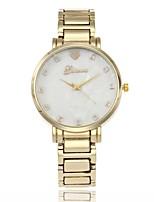 Жен. Повседневные часы Модные часы Нарядные часы Наручные часы Китайский Кварцевый Имитация Алмазный Металлический сплав Группа Роскошь