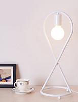 Недорогие -Рассеянное освещение Настольная лампа От электросети 220 Вольт Белый Черный
