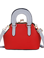 Women Bags PU Tote Zipper for Casual All Season White Black Red Blushing Pink Yellow
