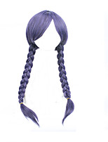 Cosplay Anime Wig Dongjo Hissing Purple Mixed Hot Wig 34inch