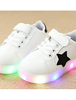 Boys' Shoes PU Spring Fall Comfort Sneakers For Casual Pink Green Black White