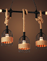 Rustic/Lodge Retro/Vintage Country Pendant Light For Dining Room Shops/Cafes AC 110-120 AC 220-240V No