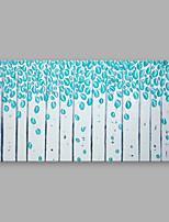 Peint à la main A fleurs/Botanique Format Horizontal,Moderne Un Panneau Toile Peinture à l'huile Hang-peint For Décoration d'intérieur