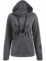 Men's Daily Going out Hoodie Print Inelastic Others