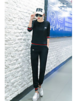 Women's Sports Casual Fall Hoodie Pant Suits