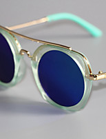 cheap -Unisex Glasses,Spring, Fall, Winter, Summer Resin with Metal Clip Blushing Pink Blue