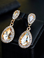 cheap -Women's Drop Earrings Rhinestone Fashion Elegant Rhinestone Drop Jewelry For Wedding Evening Party