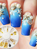 Nail Art Decoration Jewelry Charms Normal Case