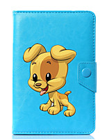 preiswerte -Universal dog pu leder stehen abdeckung fall für 7 zoll 8 zoll 9 zoll 10 zoll tablet pc