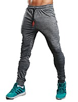 Men's Running Pants Pants / Trousers Running/Jogging Exercise & Fitness Terylene Grey M L XL XXL