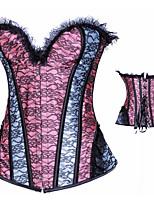 Damen Nachtwäsche Einfarbig Mittel
