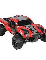 baratos -Carro com CR G18 Canal 4 2.4G Off Road Car 1:18 Electrico Escovado 45 KM / H