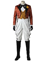 Burlesque/Clown Cosplay Cosplay Costume Costume Movie Cosplay White Vest Blouse Top Pants Gloves Boots More Accessories Halloween